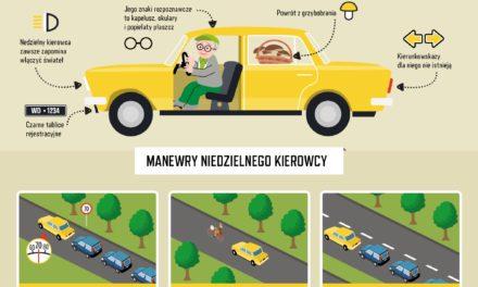 Jak rozpoznać niedzielnego kierowcę?