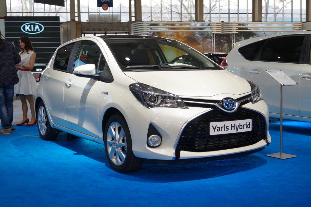 Toyota Yaris Hybrid   przód MSP15 1024x682